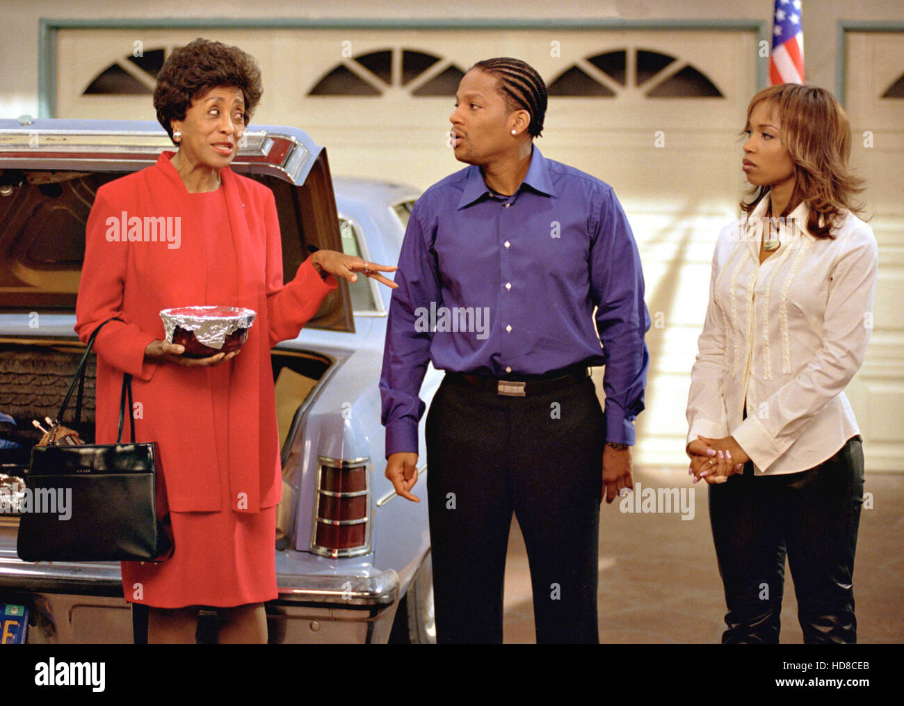 The Hughleys Marla Gibbs D L Hughley Elise Neal Bored Of The Stock Photo Alamy