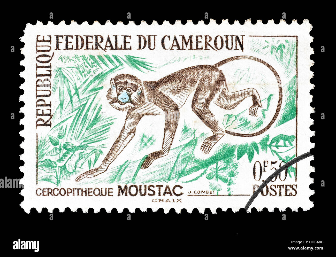 Cameroon stamp 1962 - Stock Image