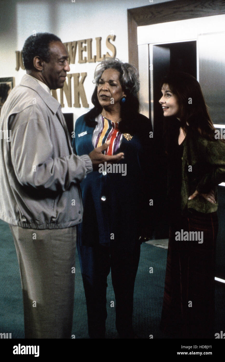 TOUCHED BY AN ANGEL, from left: Bill Cosby, Della Reese, Roma Downey, 1994-2003, © CBS/courtesy Everett Collection Stock Photo