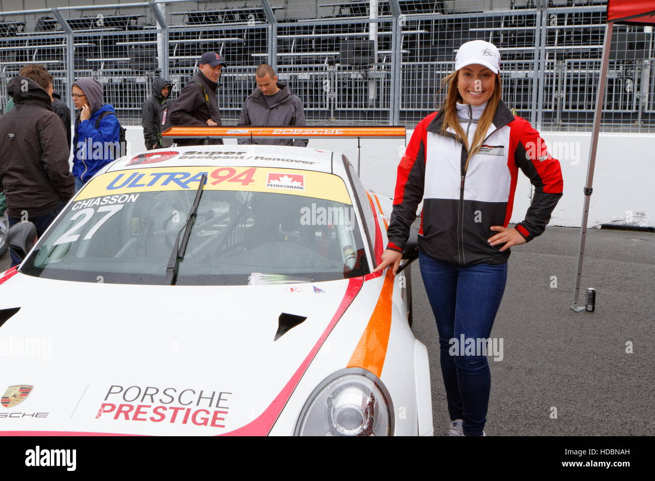 Quebec business woman and race car driver, Valerie Chiasson