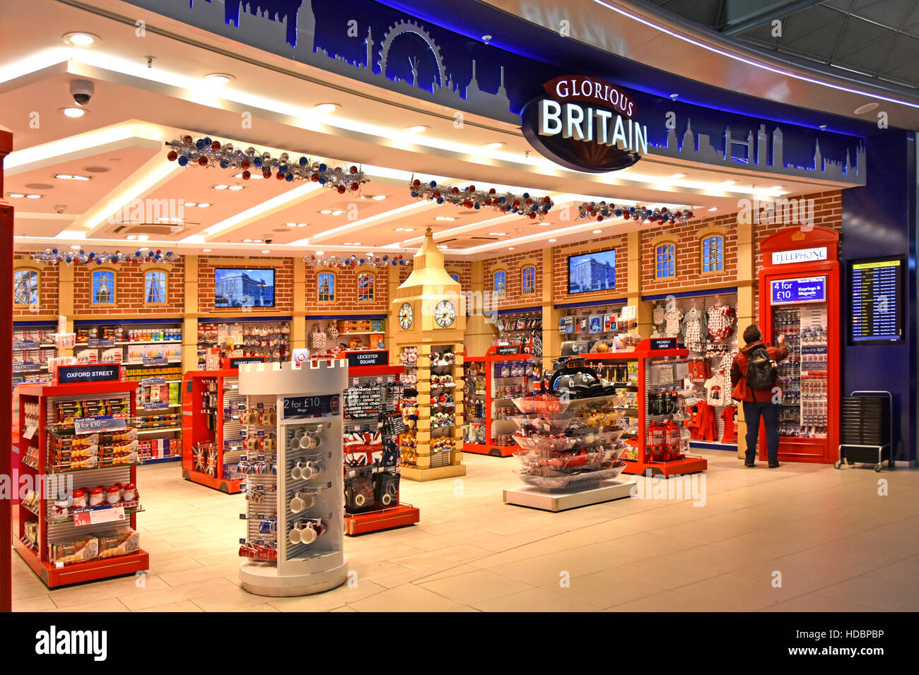 Stansted Airport London Shopping At Glorious Britain Gift Souvenir