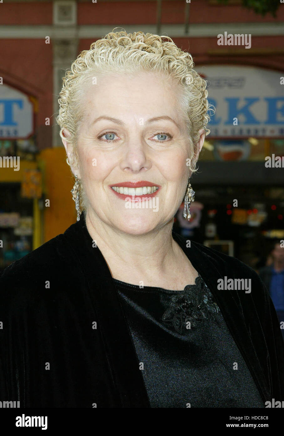 FBS08 20031213 HOLLYWOOD, UNITED STATES : Cast member Lynn Redgrave at  the  premiere of her film 'Peter Pan' - Stock Image