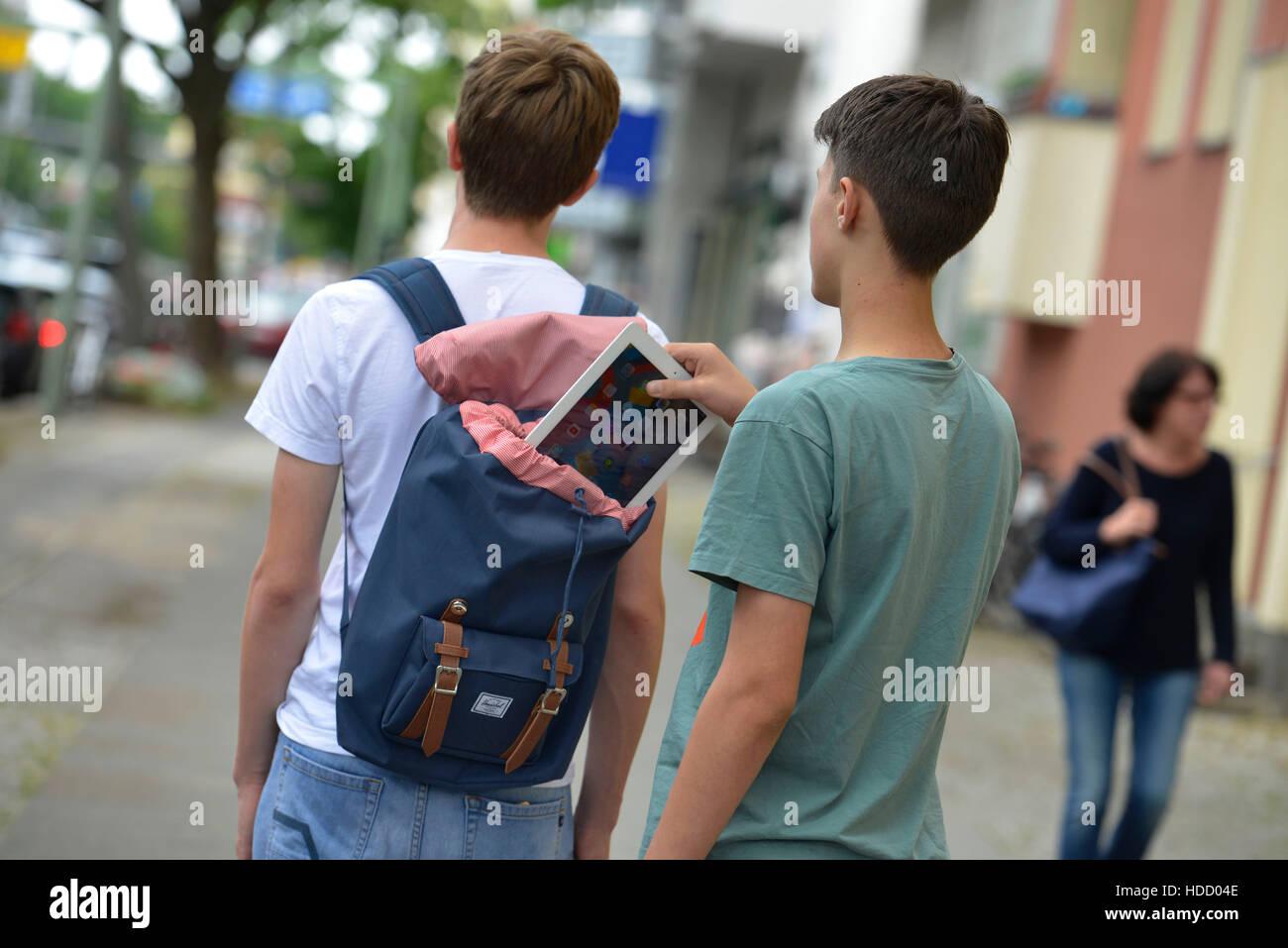 Symbolfoto, Taschendiebstahl Stock Photo