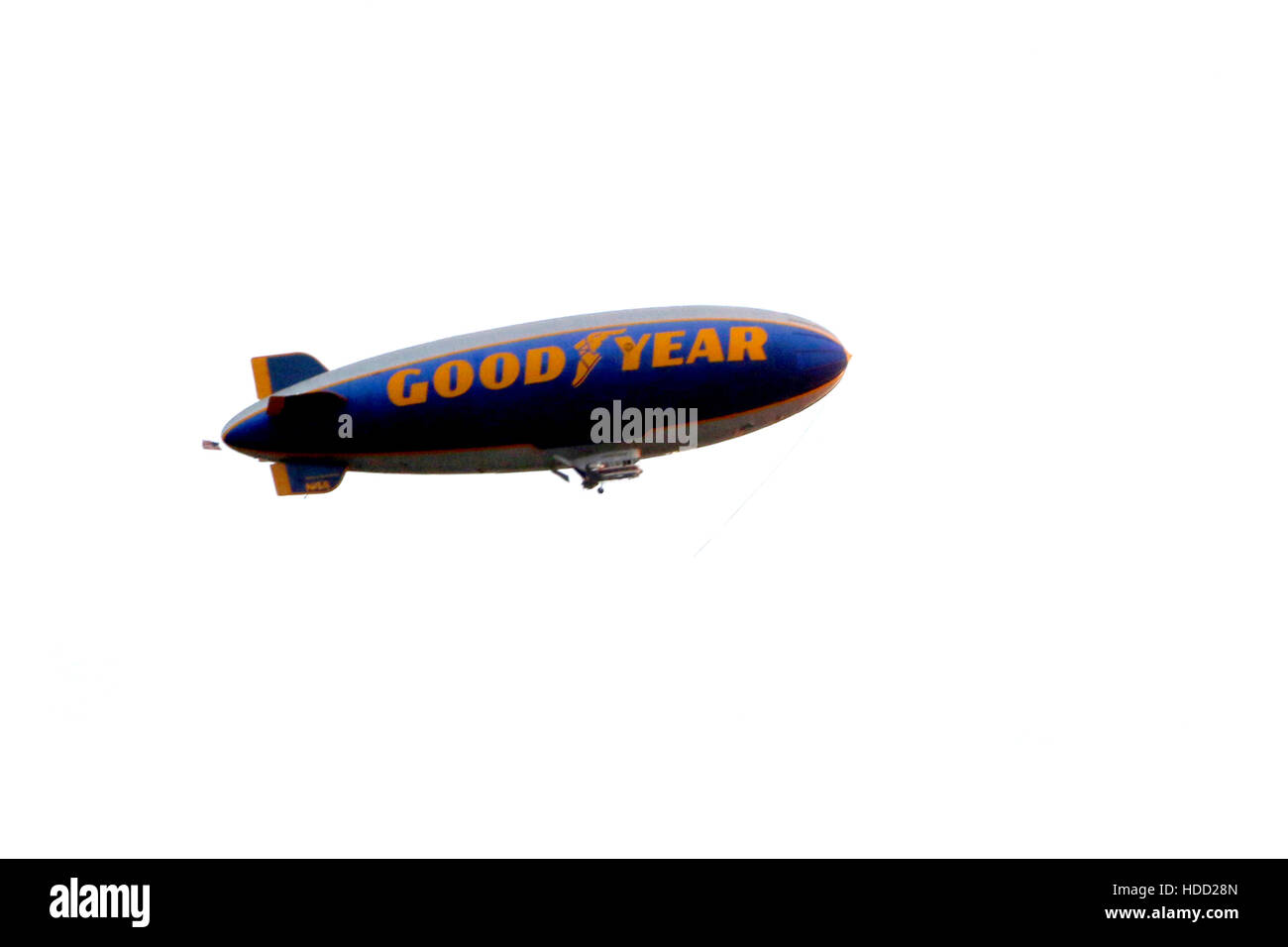 'Voyage Of Time: The IMAX Experience' Premiere at the California Science Center  Featuring: Goodyear Blimp - Stock Image