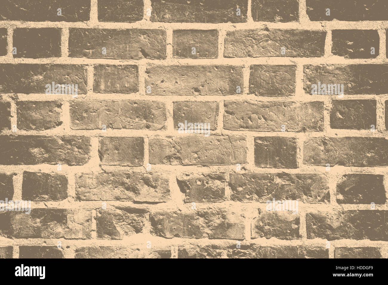Grunge brick wall  background - layer for photo editor. - Stock Image