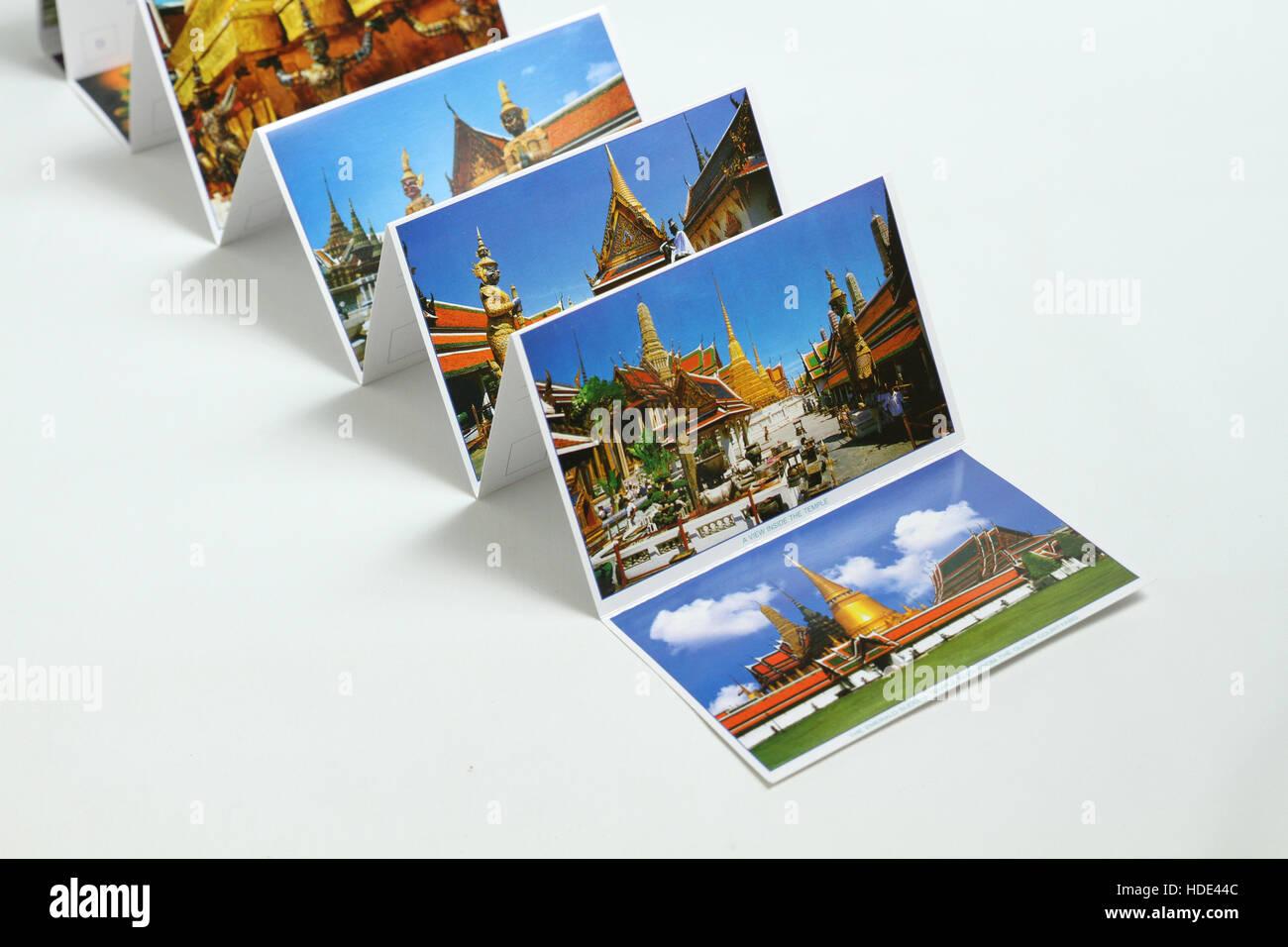 bangkok postcards - Stock Image