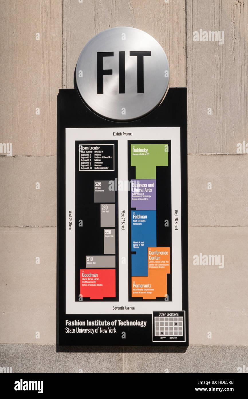 Fashion Institute Of Technology Nyc Stock Photo Alamy