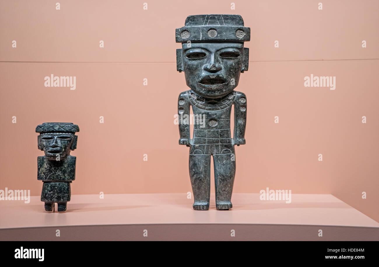 Pre-Colombian Art - Stock Image