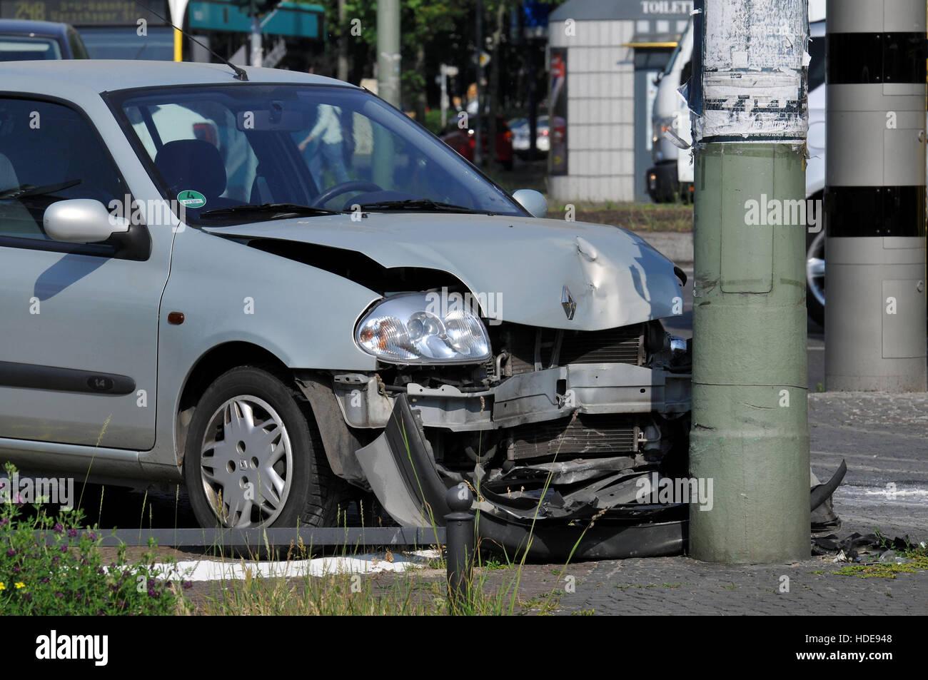 Autounfall, Innsbrucker Platz, Schoeneberg, Berlin, Deutschland ...