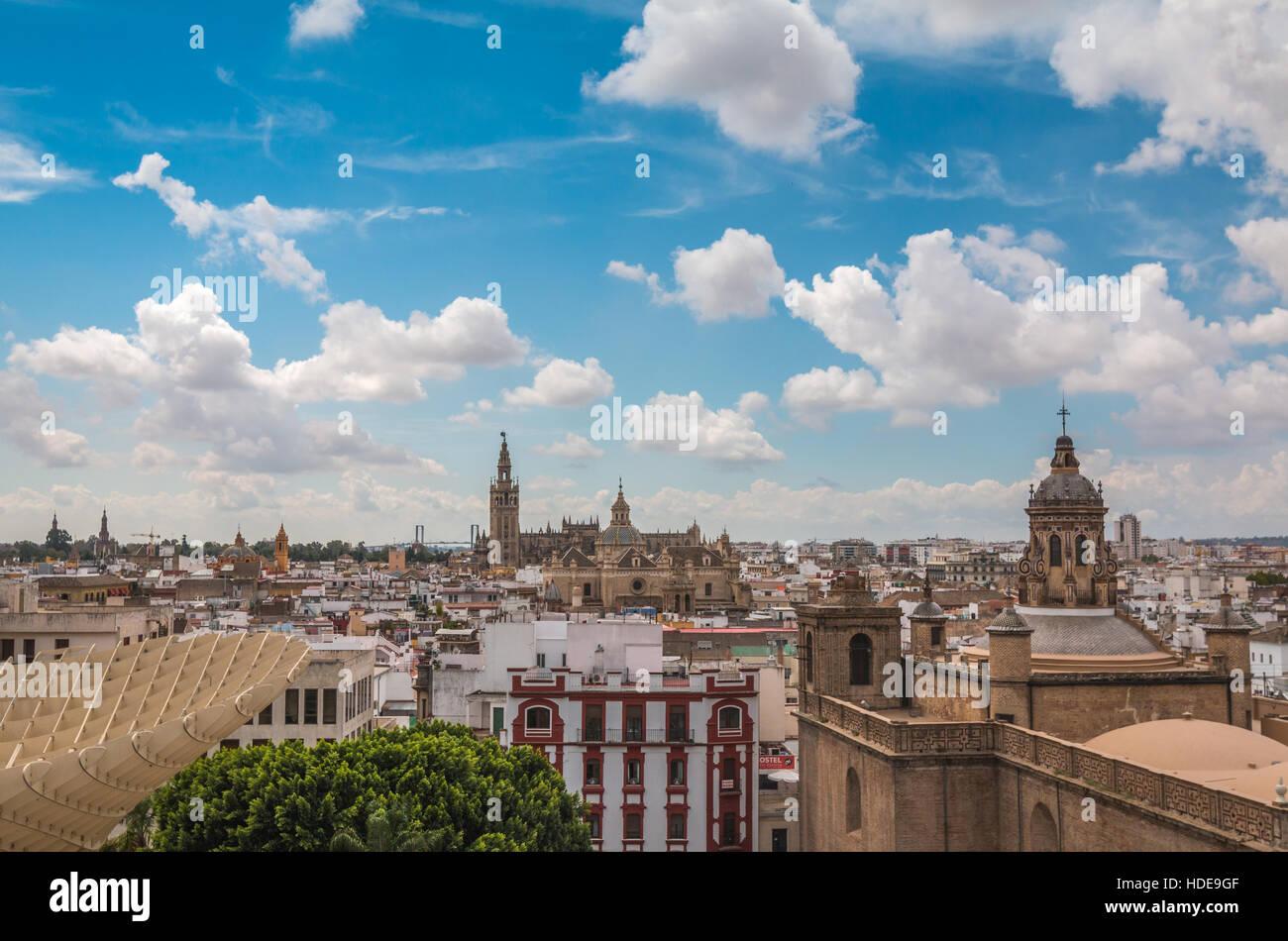 Seville Spain - Stock Image