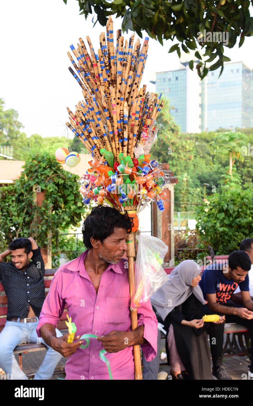 Sreet Sellers - Stock Image