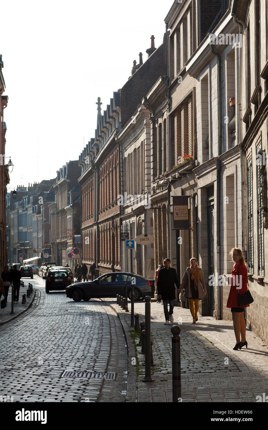 Lille, northern France. - Stock Image