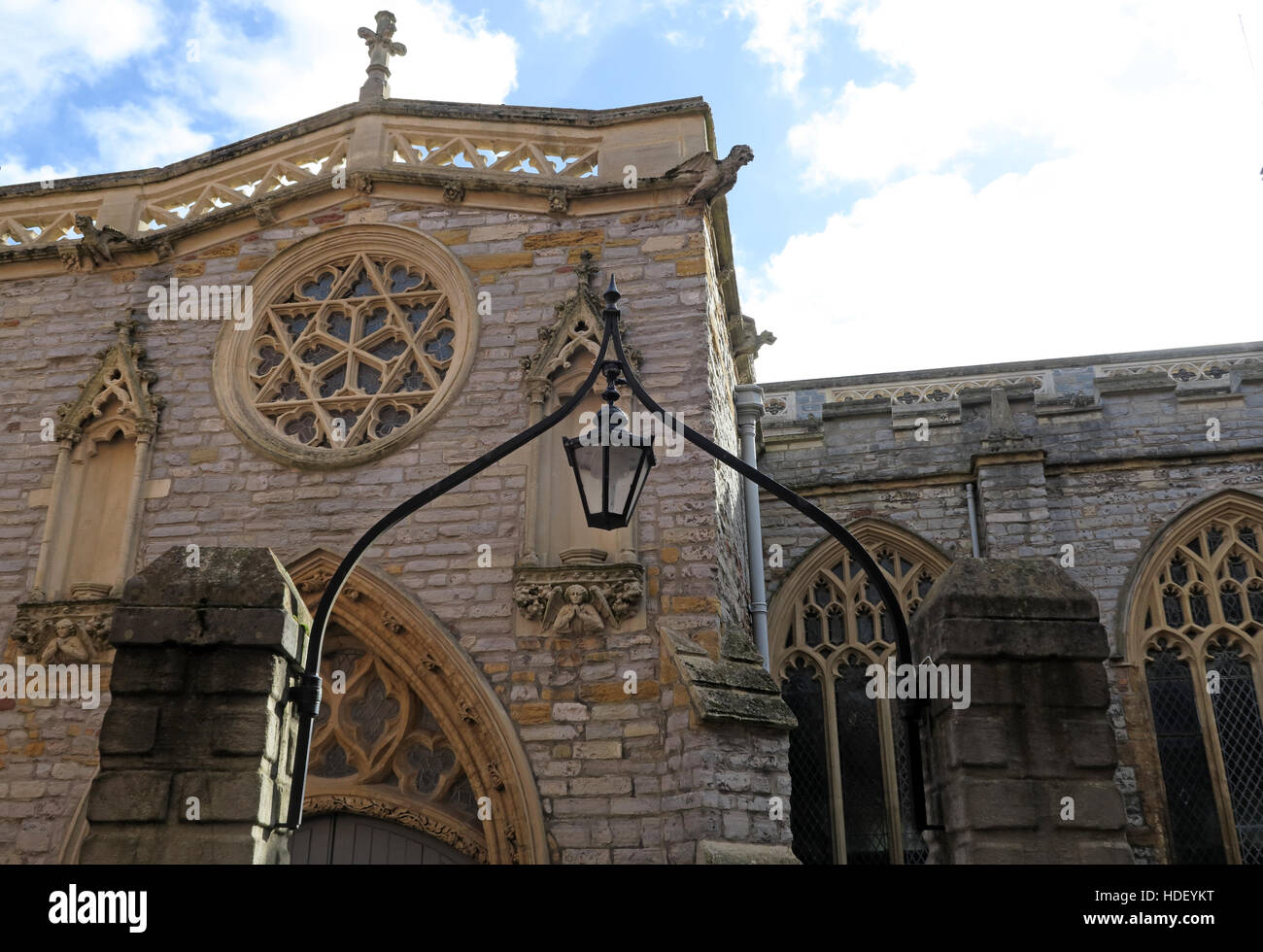 St Marys Church,Bridgwater,Sedgemoor,Somerset,England,UK - Stock Image