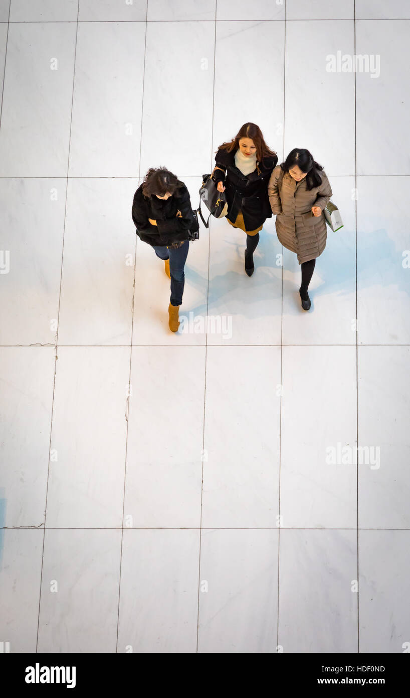 Westfield shopping center in New York, World Trade Center Stock Photo