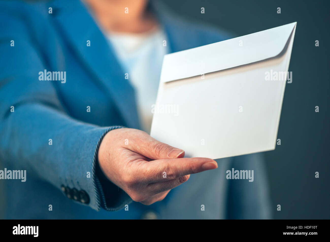 Job offer letter stock photos job offer letter stock images alamy businesswoman offering white envelope as bribe concept of corruption in business activity stock image thecheapjerseys Gallery