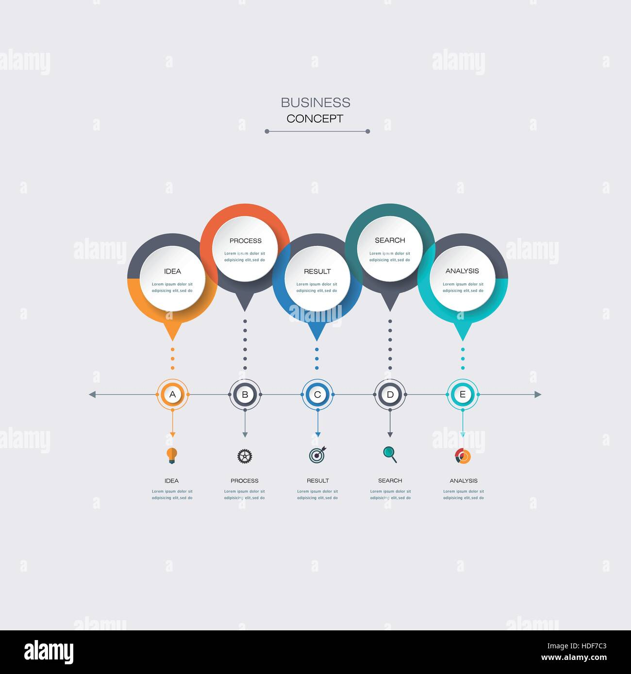 Vector infographic timeline template with 3d paper label integrated vector infographic timeline template with 3d paper label integrated circles business concept with options for content diagram flowchart steps p accmission Images