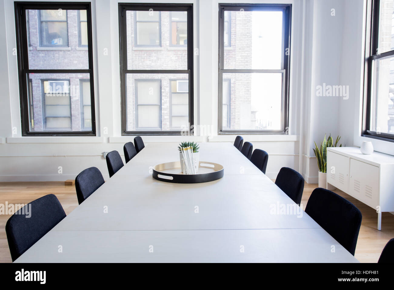 Modern Office Interior, conference room. - Stock Photo