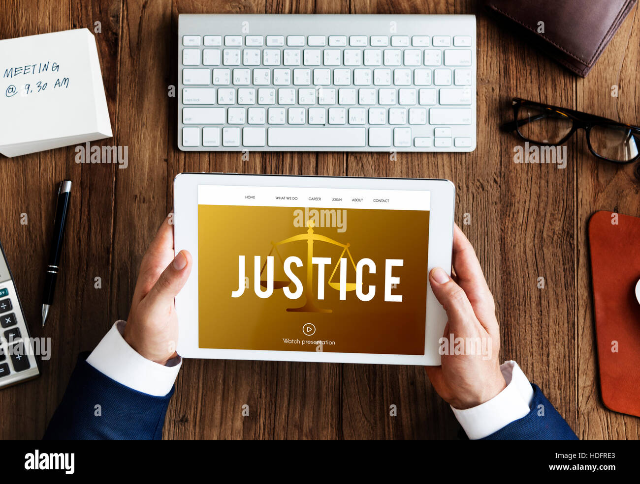 Justice law icon court concept - Stock Image