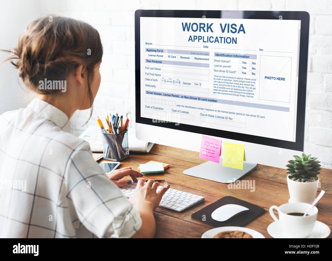 Work visa application law legal concept stock photo 128814067 alamy work visa application law legal concept altavistaventures Image collections
