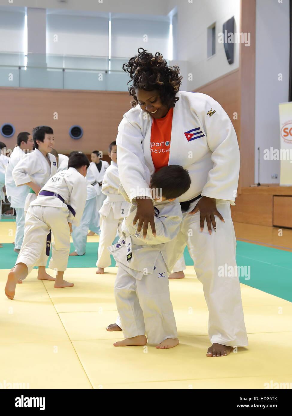 2016 Rio Olympics Women's Silver medalist Idalys Ortiz of