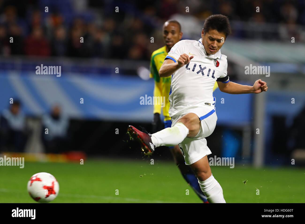 Osaka, Japan. 11th Dec, 2016. Yasushi Endo (Antlers) Football/Soccer : FIFA Club World Cup Quarter-final match between - Stock Image