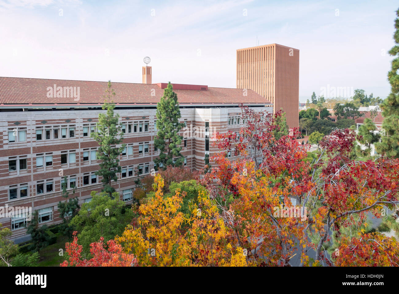 Los Angeles, DEC 9: Campus of the University of Southern California on DEC 9, 2016 at Los Angeles - Stock Image