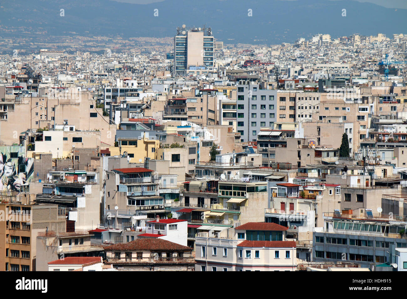 Skyline: Athen, Griechenland. Stock Photo