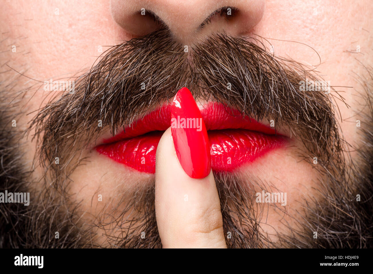 Man With Nail Polish Stock Photos & Man With Nail Polish Stock ...