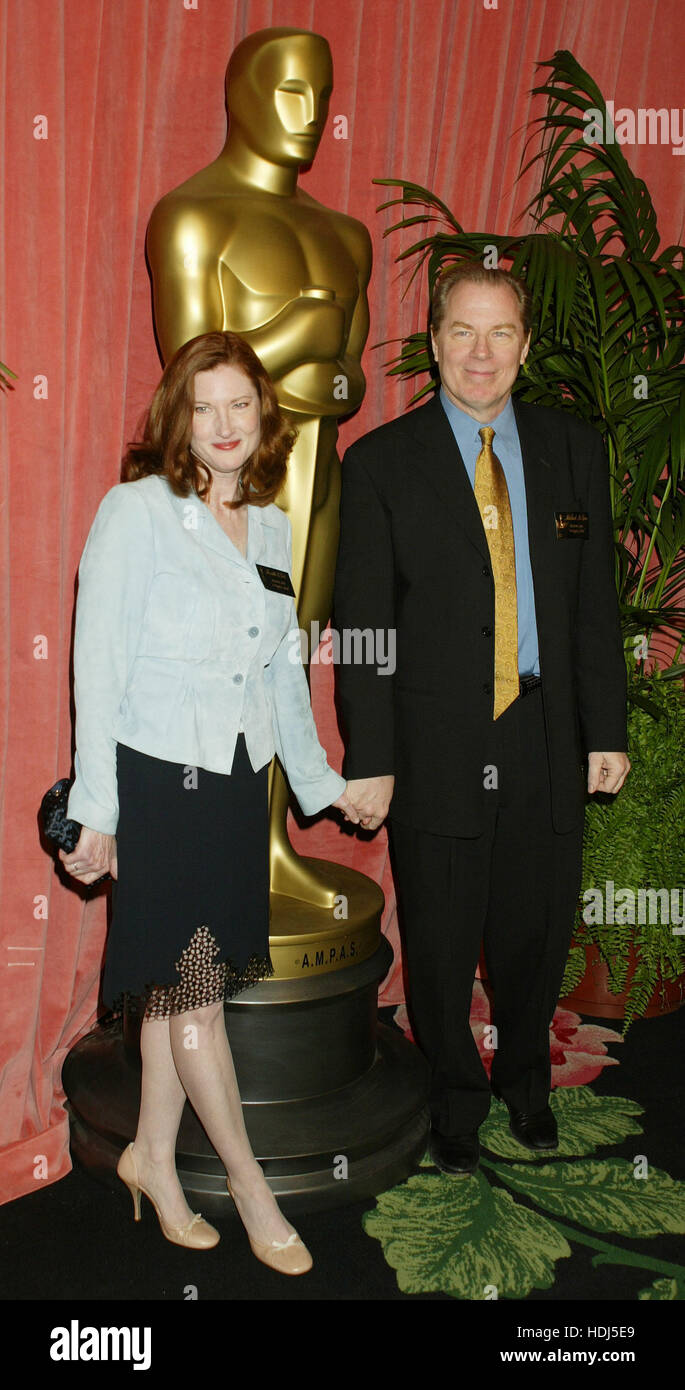 Annette O'Toole and Michael McKean at the Academy Awards Nominees Luncheon at the Beverly Hilton in Beverly Hills, California on Monday February 9, 2004.  Photo credit: Francis Specker Stock Photo