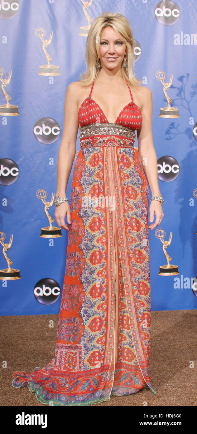 Actress Heather Locklear backstage at the 56th Annual Emmy Awards  in Los Angeles, California on Sunday 19 September, - Stock Image