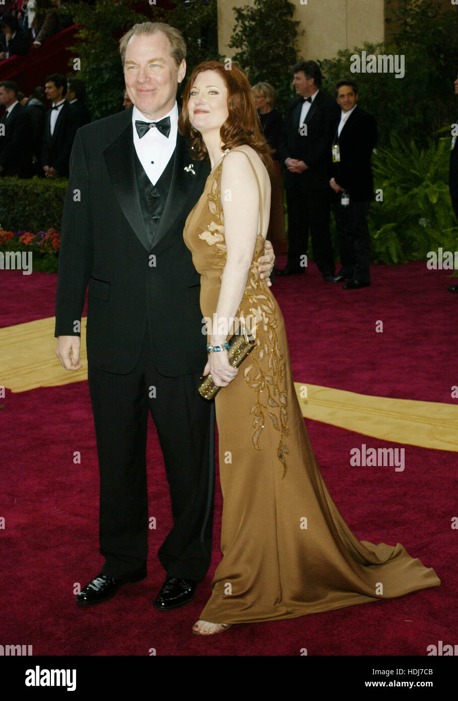 Michael McKean and Annette O'Toole at the Academy Awards  in Hollywood,  California on February 29, 2004.  Photo credit: Francis Specker Stock Photo