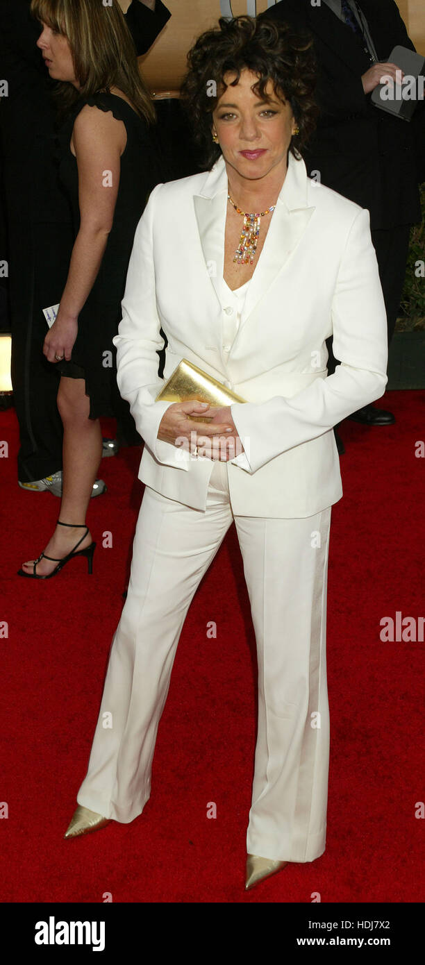 Stockard Channing arrives at the Screen Actors Guild Awards in Los Angeles, California on Monday February 22, 2004. - Stock Image
