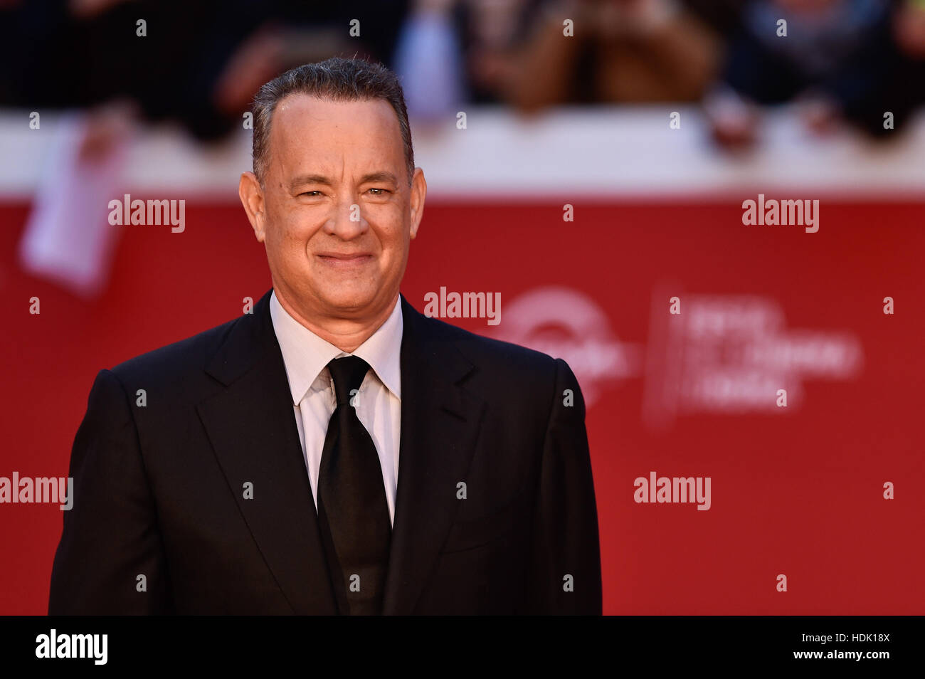 Tom Hanks and his wife Rita Wilson during the 11th Rome Film Festival at the Auditorium Parco della Musica  Featuring: - Stock Image