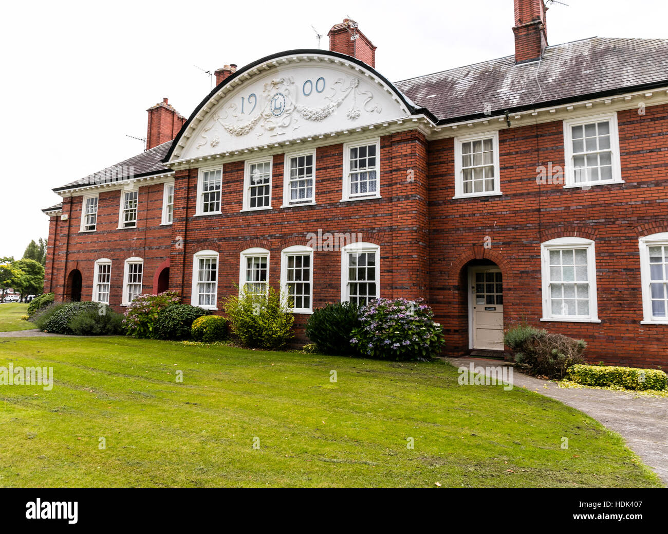 Port Sunlight Village, Wirral, Merseyside. England Stock Photo