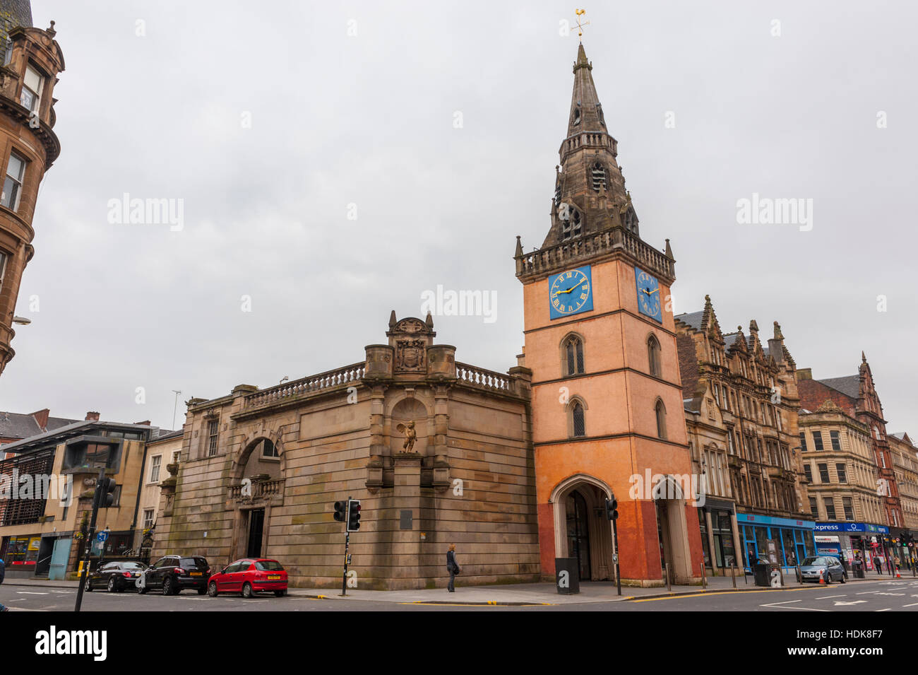 The Tron Church Located in the area of the Merchant City, Glasgow - Stock Image