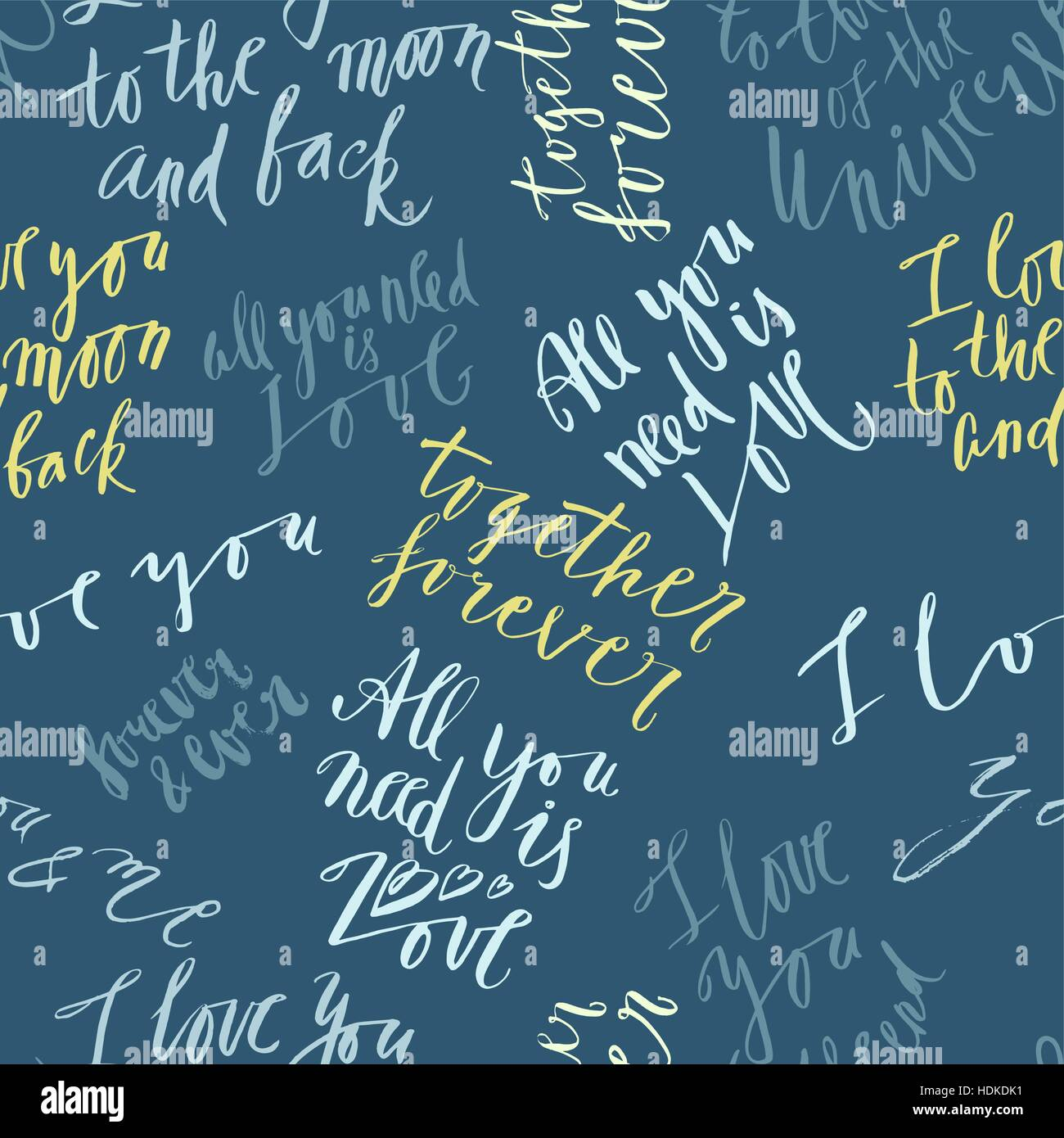Quotes About Love Stock Vector Images Alamy