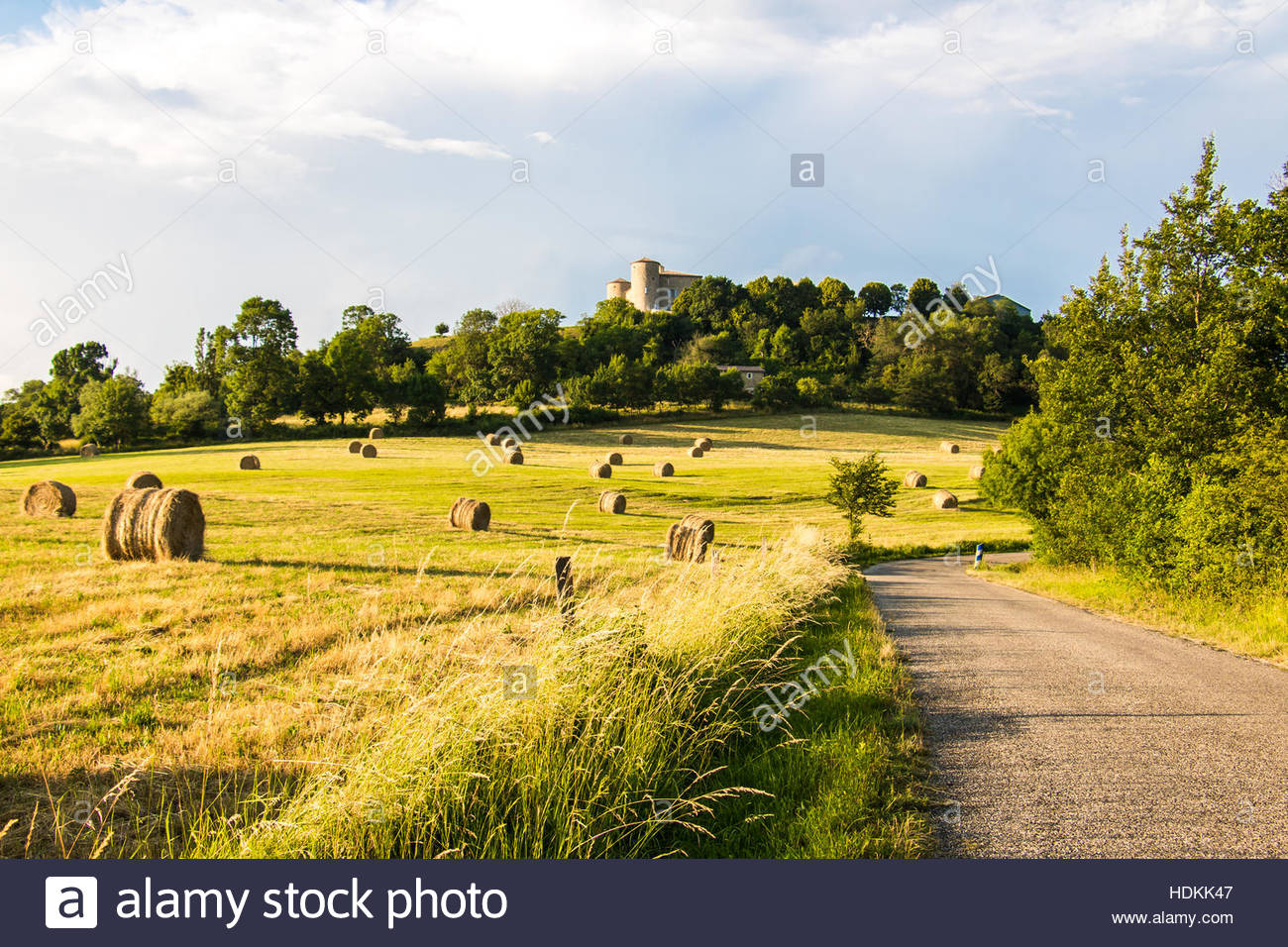 French Countryside In Provence Dieulefit Drome Nice France Landscape