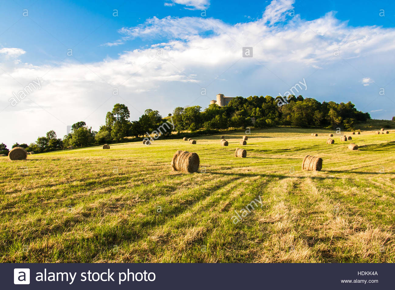 French Countryside In Provence Dieulefit Drome Nice France Landscape Provencale