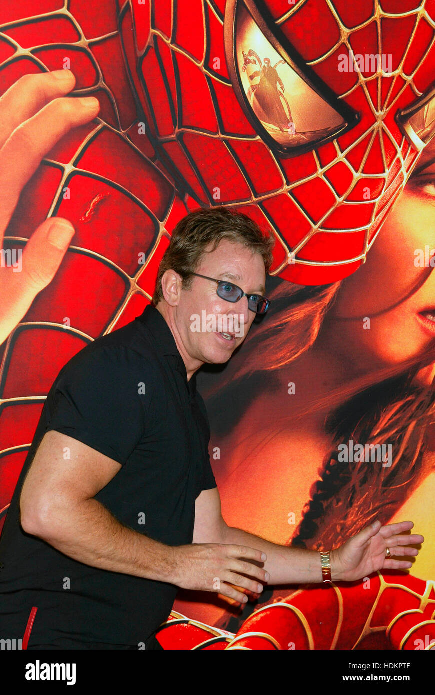 Actor Tim Allen at the premiere for the Columbia Pictures  film, 'Spider-man 2' at the Mann Village theatre - Stock Image