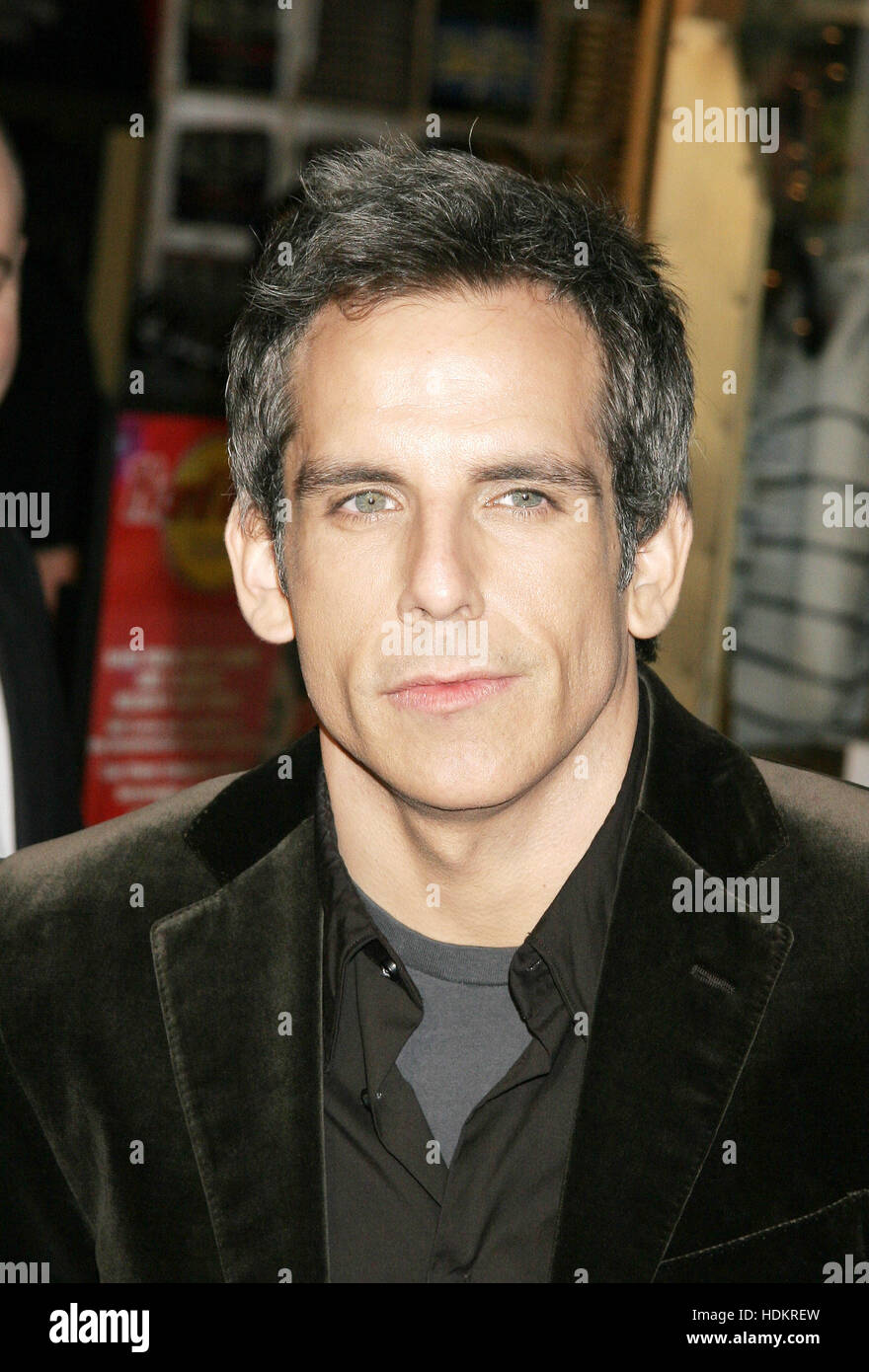 Ben Stiller at the premiere of the film, 'Meet The Fockers'  on December 16, 2004 in Los Angeles. Photo - Stock Image