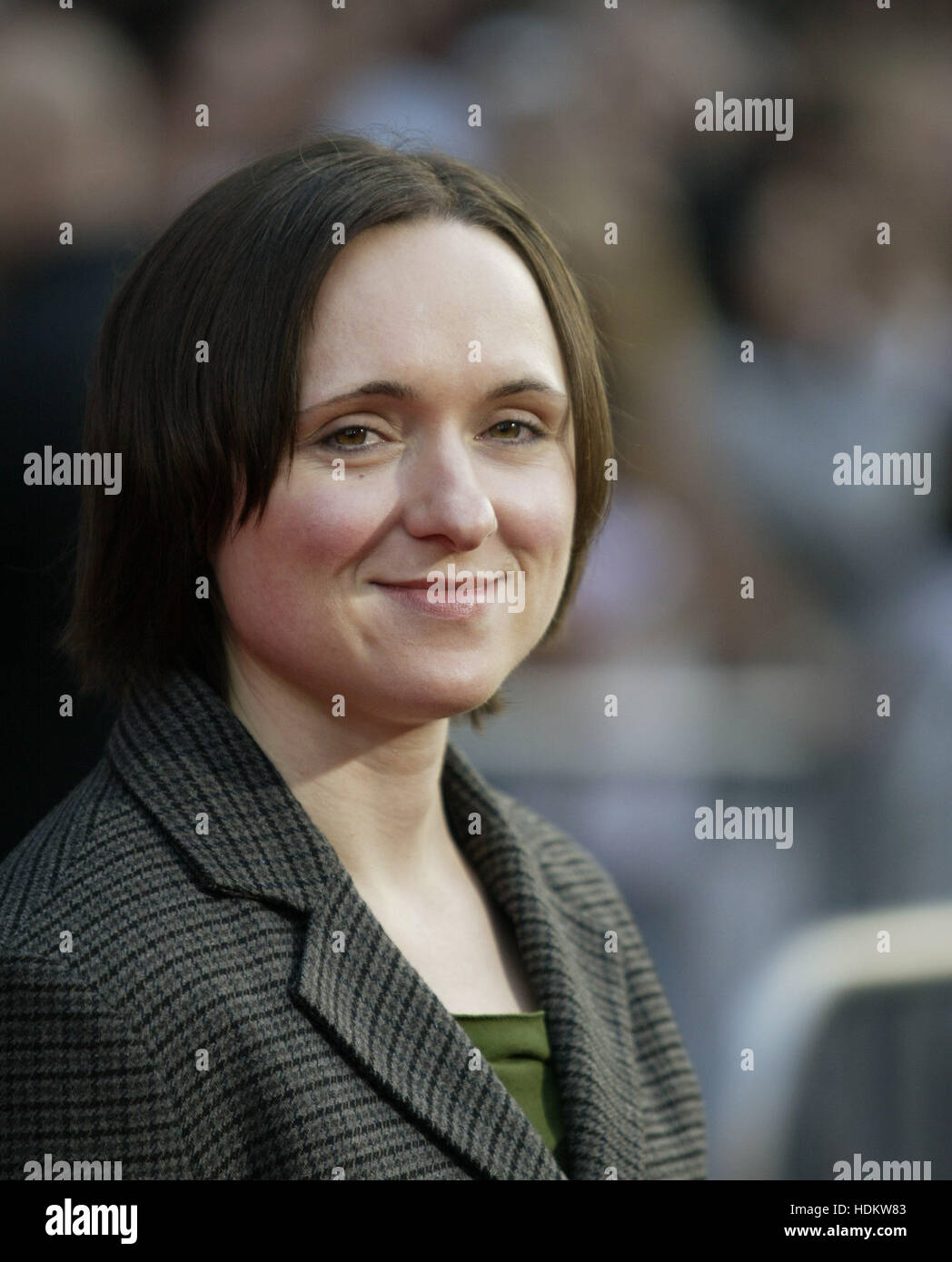 Sarah Vowell at the premiere for 'The Incredibles' on October 24, 2004 in Los Angeles, California. Photo - Stock Image