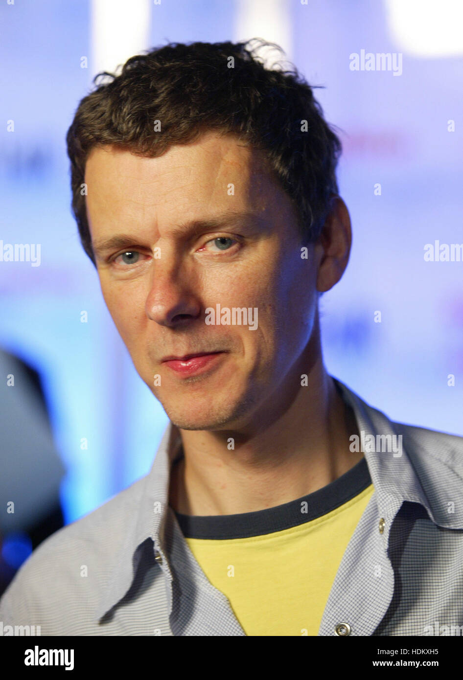 Director Michel Gondry Poses For Photographers At The Dvd Launch