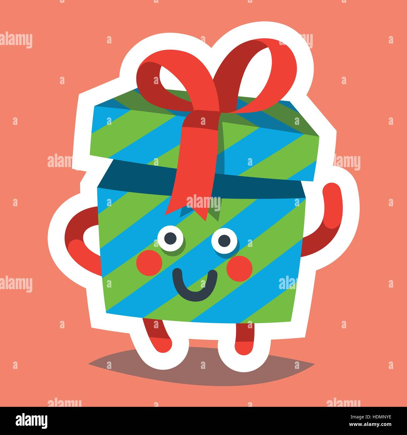 vector illustration emoticon icon on theme of winter holiday emoji emoticon happy new year icon emotion merry christmas funny gift xmas sticker ico