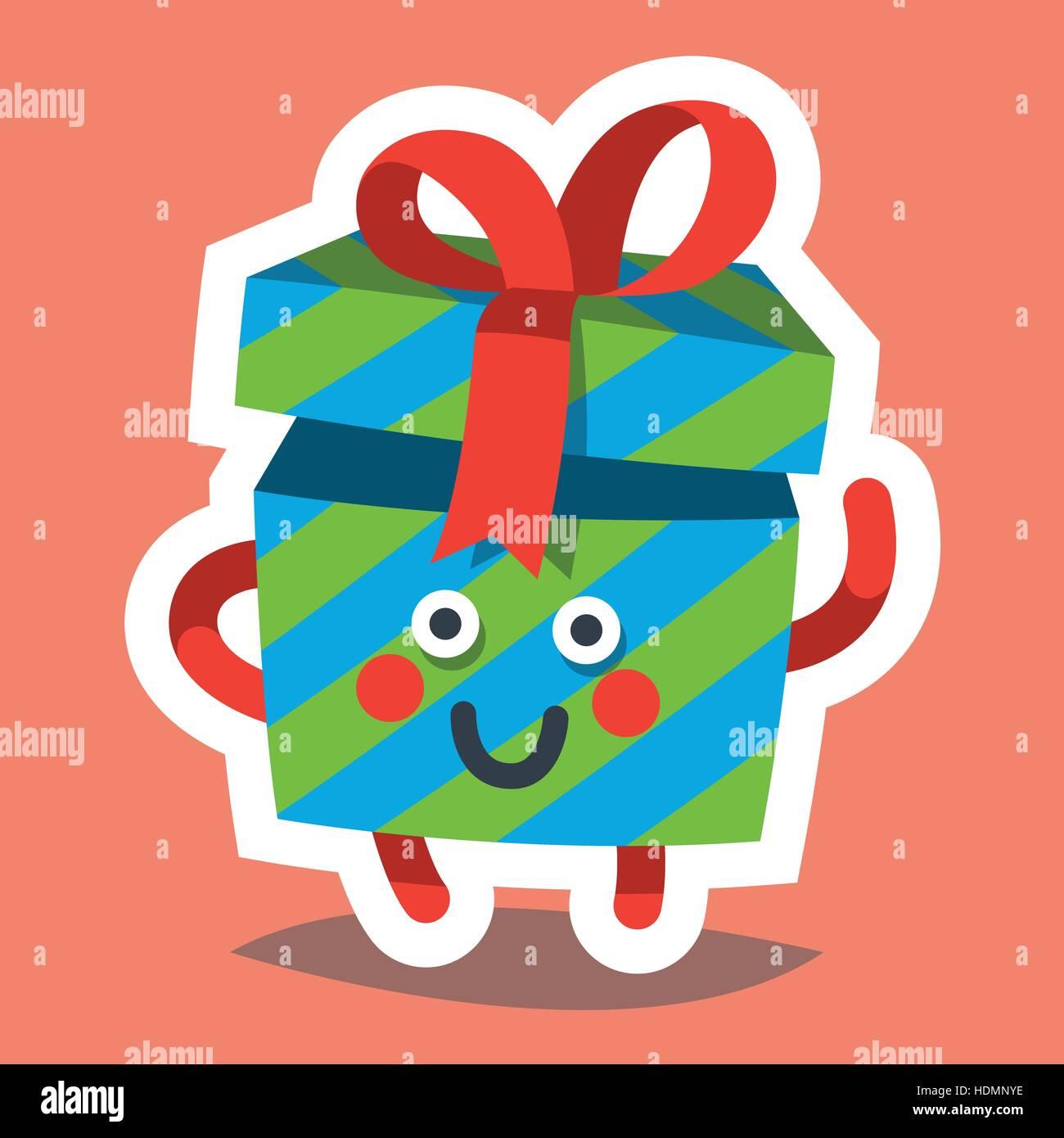 vector illustration emoticon icon on theme of winter holiday emoji emoticon happy new year icon emotion merry christmas funny gift xmas sticker ico