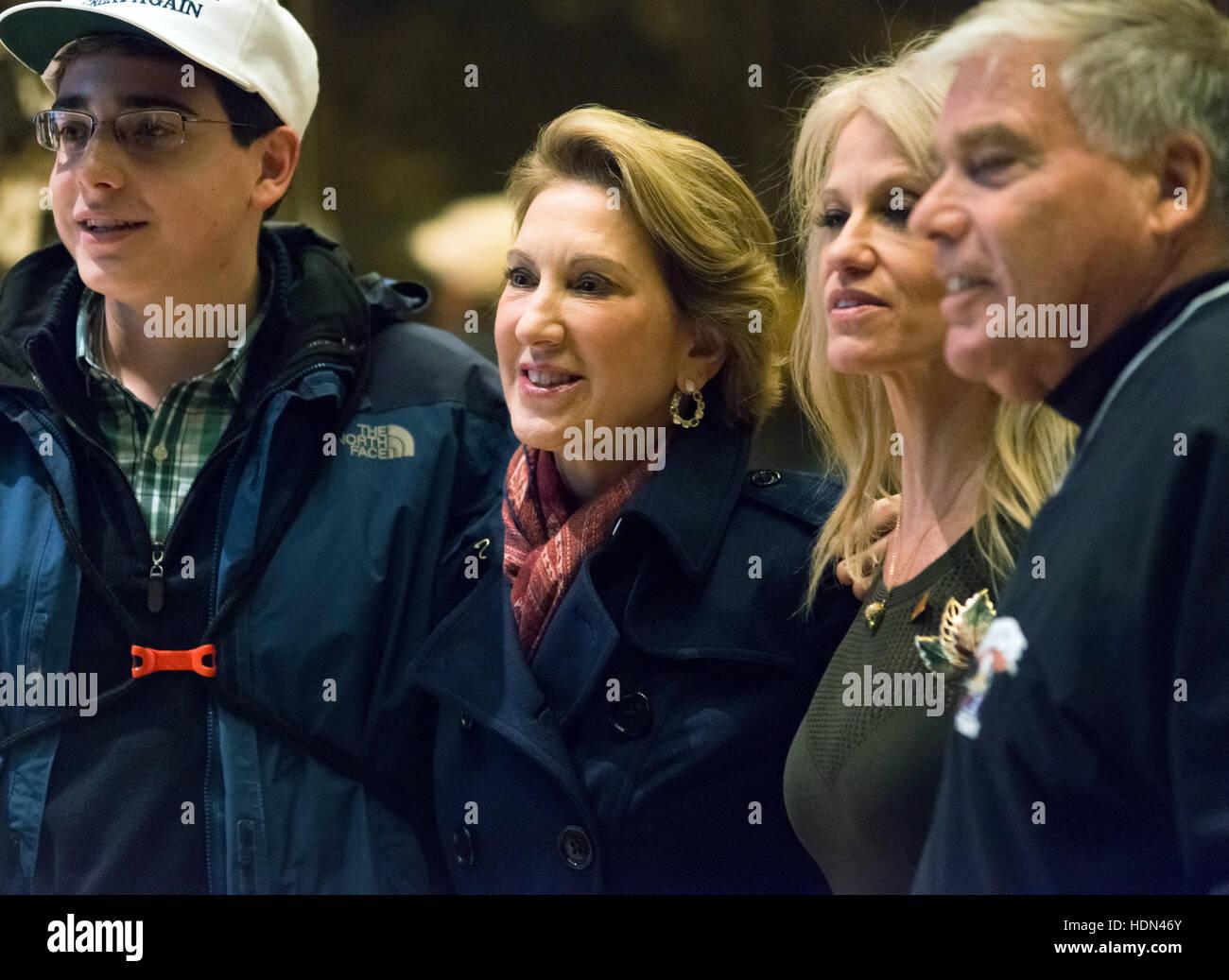 new york ny usa 12th dec 2016 former republican presidential
