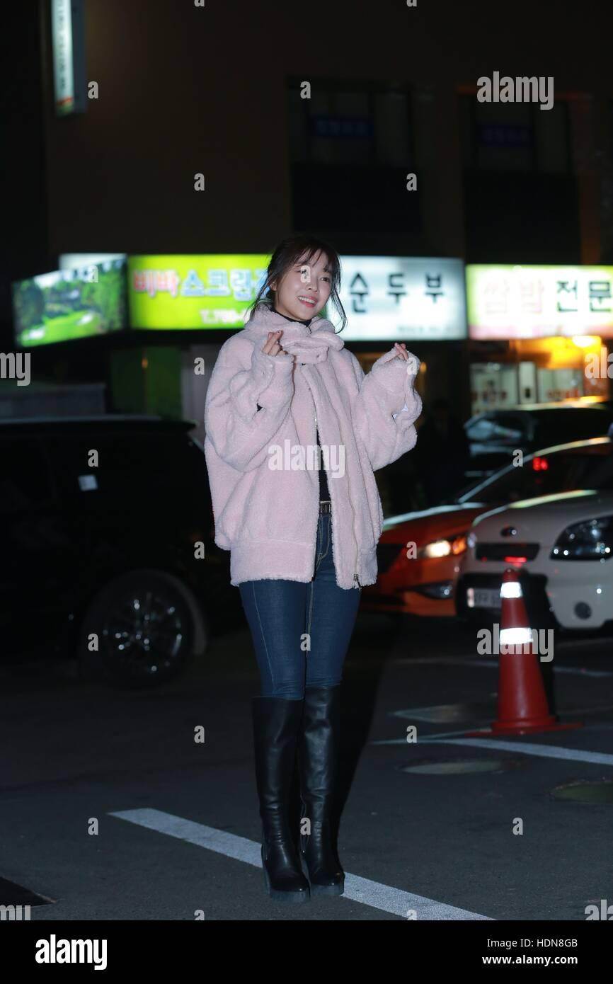 Seoul, Korea  13th Dec, 2016  Su Ae, Young-gwang Kim, Soo he