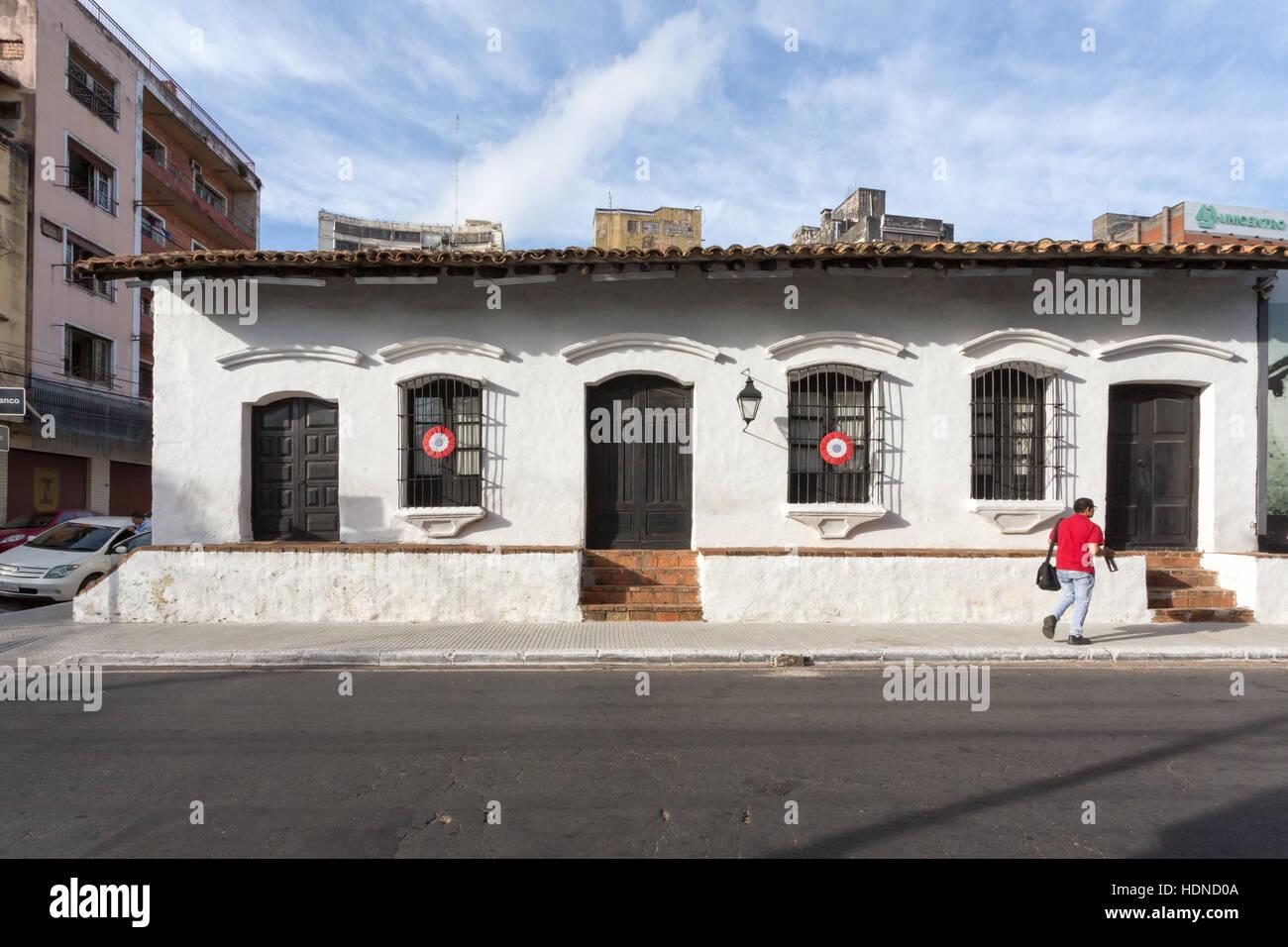 Paraguay Colonial Building In Asuncion Stock Photos & Paraguay ...