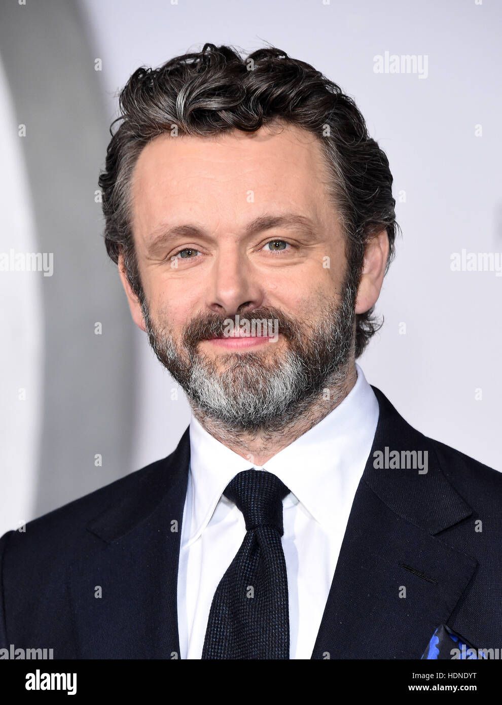 Westwood, California, USA. 14th Dec, 2016. Michael Sheen arrives for the premiere of the film 'Passengers' - Stock Image