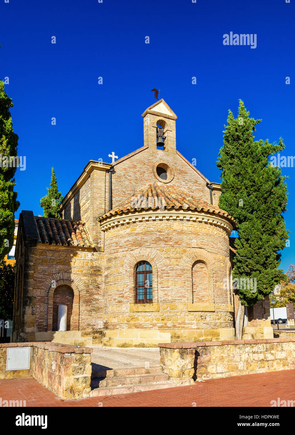 Hermitage of Santos Martires in Cordoba, Spain Stock Photo