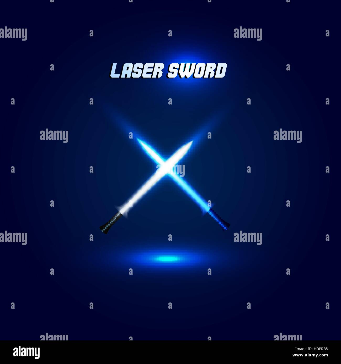 Light Saber Battle Stock Photos Images Laser Engraver The Electronic Mercenary Isolated Crossed Swords Logo Futuristic Movie Weapon Logotype Sabre With Fire Force Icon